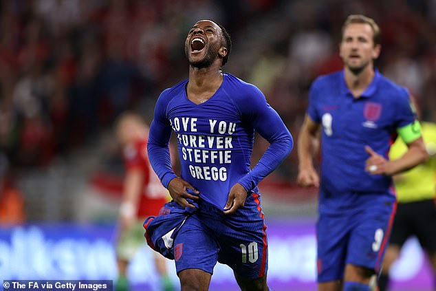 England star Raheem Sterling last night paid tribute to his childhood friend Steffie Gregg who reportedly died from Covid complications
