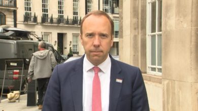 Kay Burley presses Health Secretary Matt Hancock about meetings with the prime minister and chancellor on the social care crisis.