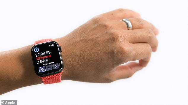 An upcoming model of the Apple Watch could include a wrist-temperature sensor, though it likely won't be part of the Series 7, being unveiled on October 15