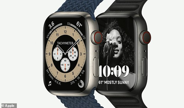 The tech giant boasts that this device is its 'most durable Apple Watch ever, with a stronger, more crack-resistant front crystal'