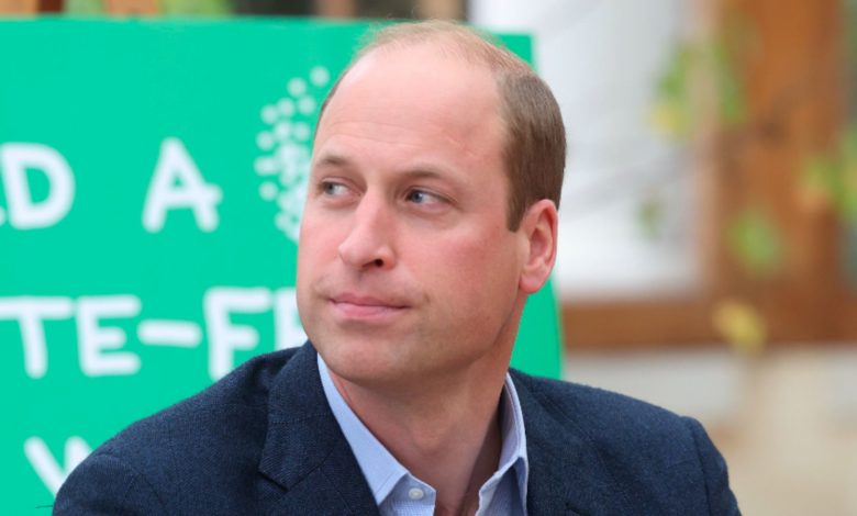 Britain's Prince William alongside children from The Heathlands School during a visit to the Royal Botanic Gardens, in south London, Wednesday, Oct. 13, 2021 to take part in a Generation Earthshot event. (Ian Vogler/Pool Photo via AP)