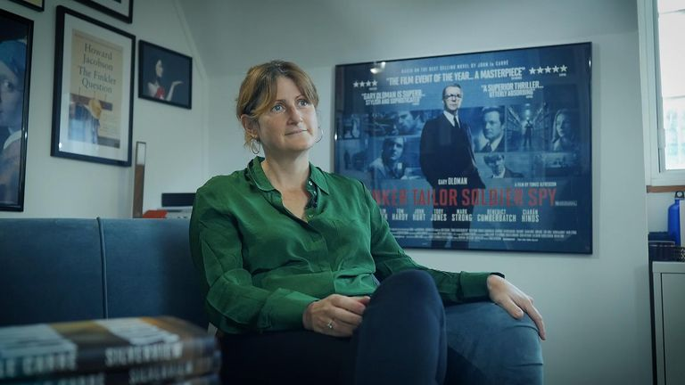 current popularity of spy novels as a genre is a sign of the times, according to Professor Penny Fielding  - check