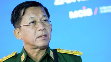 Myanmar junta chief says military government committed to restoring peace
