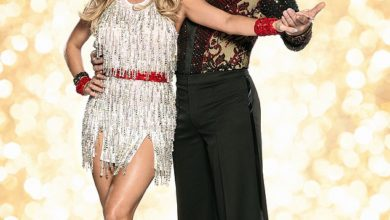 Ola Jordan and Steve Backshall on Strictly Come Dancing. TheOlympic gold medal rower hasosteoarthritis