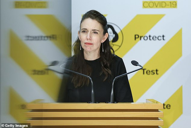 New Zealand PMJacinda Ardern has been forced into major re-think of her Covid-19 policy ahead of a predicted surge in cases despite her elimination strategy
