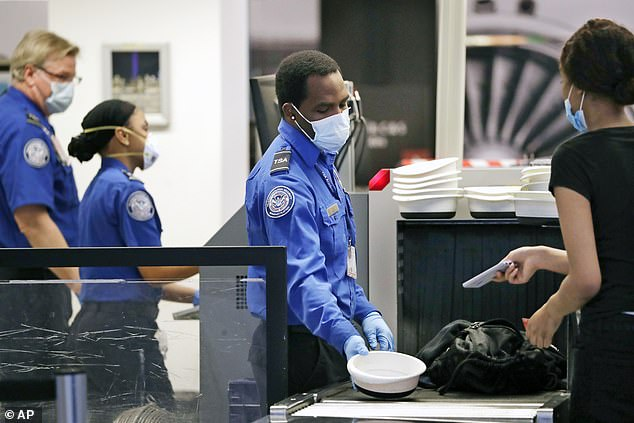 Approximately 24,000 TSA workers have until November22 - the Monday before Thanksgiving - to get the COVID vaccine or risk being fired under President Joe Biden's vaccine mandate for all federal workers