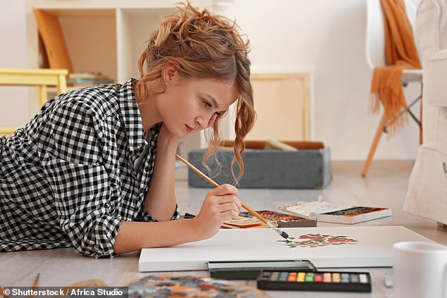 Women in the fertile stages of their monthly cycle show an increased level of creativity compared to other times of the month, researchers claim. Stock image